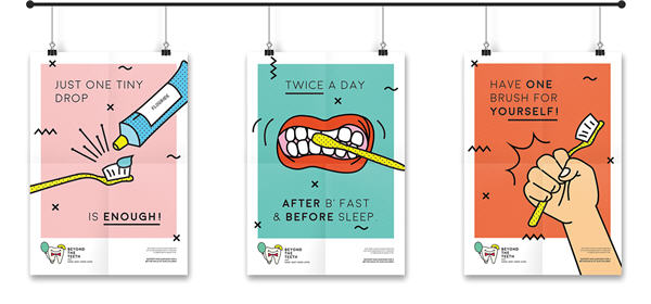 What Makes a Good Poster Design - Beyond the Teeth by Ninette Saraswati