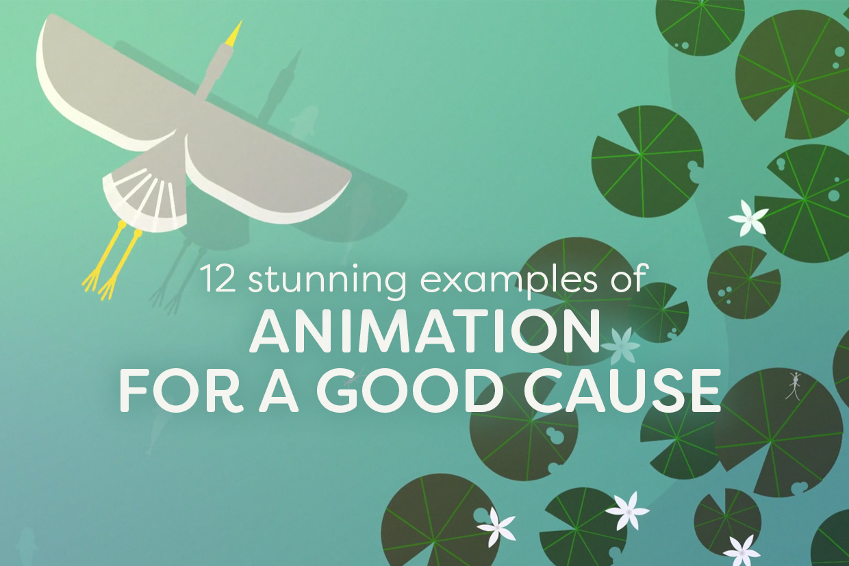 12 Stunning Examples of Animation for a Good Cause