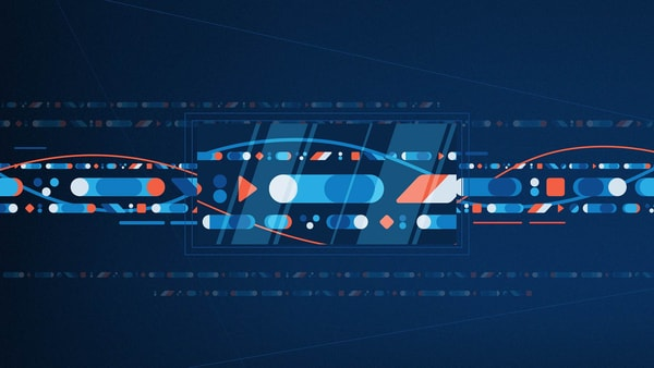 Style Frame Design for Animated Video - Blue Prism